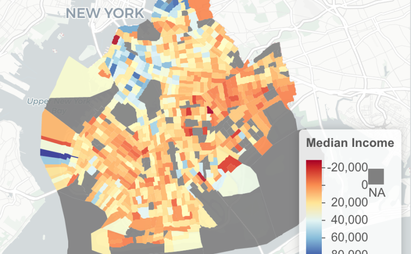 Build maps with the US Census data and R